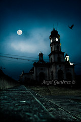 "Dark church. (Angel ""dimen"" Gutirrez) Tags: church canon dark noche venezuela iglesia zulia nocturna trujillo oscura cabimas escuque"