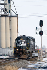 Norfolk Southern 3323 Switching in Fostoria