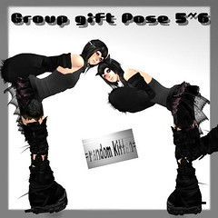 group gift pose 5~6