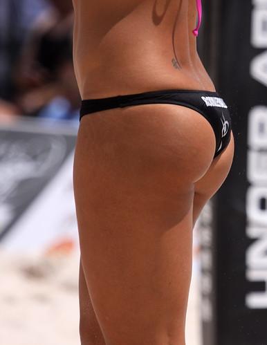 Brazilian naked bent over