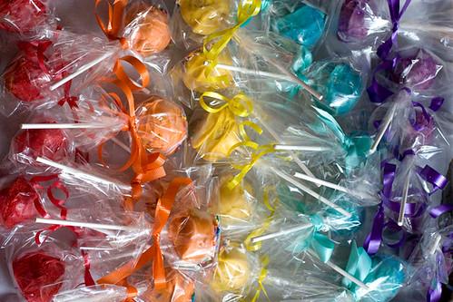 Rainbow Cakepops