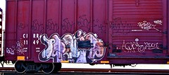 IMG_5767 (mightyquinninwky) Tags: railroad graffiti tag graf tracks railway tags tagged railcar rails boxcar graff graphiti freight trainart fr8 railart boxcarart freightart taggedboxcar paintedboxcar paintedrailcar taggedrailcar