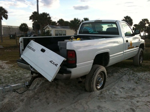 Truck accident in Jacksonville