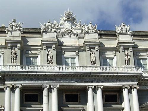 balcony on Palazzo Ducale, Genoa