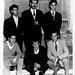 Ali & friends with Camp comander Matarka, Lavrion refugee camp, Greece 1960
