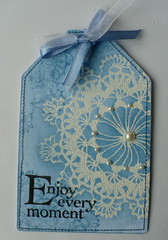 A gift tag