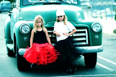 urban grunge princesses (Traci) Tags: california girls red urban black kids sisters photography blog kid grunge group daughters textures taylor orangecounty danapoint crusty tutu totally tracie weddingphotographer troublemakers tracietaylorphotography