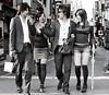 Japanese ABBA (Mike Dillingham) Tags: men topf25 topv111 japan topv2222 hair tokyo topv555 topv333 women shinjuku 300d topv1111 topv999 young couples style topv5555 topv777 hip topv3333 topv4444 rockstars stylish 2007 doubles doubledate thighhighs topvaa botopv0707