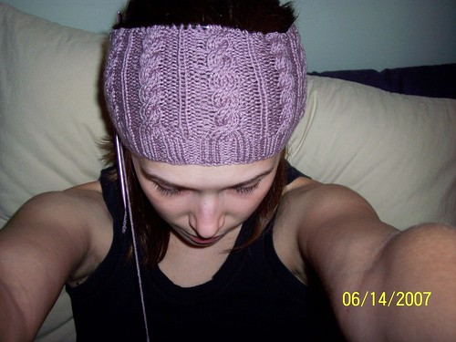 Front View - Cable Hat