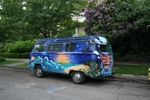 Attila the Fun Art Car by Tish Smith - CANADA