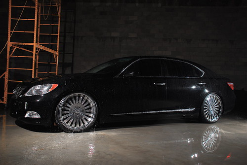 lexus ls 460 white. Lexus LS 460 on Sevas Wheels