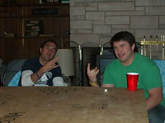 Edwards and Sean (Rad Jose) Tags: dice drinks therock theshocker