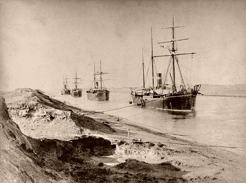 Suez Canal in the 1870s / Wolfgang Wiggers