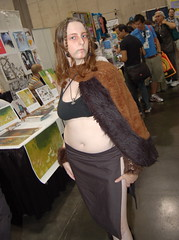 Comic Con 2007: Viking Woman (earthdog) Tags: vacation 15fav fur costume sandiego cosplay viking comiccon 2007 unknownperson comiccon07 comicbookcon chrisvacation upcoming:event=95580 unknowncostume needsflickrpeople needscamera needslens