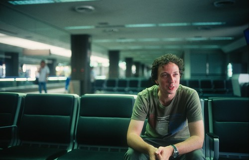 Jimmy at Narita Airport by tallkev, on Flickr