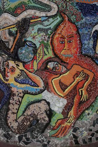 Mosaic of Strange Creatures