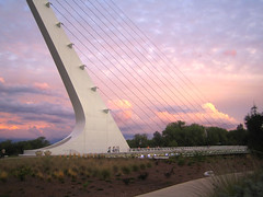 Sundial Bridge at Turtle Bay 3 (tgstewart1) Tags: california bridge sunset northerncalifornia interestingness sundial calatrava page frontpage santiagocalatrava sacramentoriver pedestrianbridge turtlebay reddingca wildcard sundialbridge suspensionbridges turtlebaysundialbridge sundialbridgeatturtlebay thegalleryoffinephotography