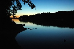 Iles aux Alumettes (.cjr) Tags: sunset ottawariver