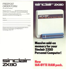 ZX80 16K Ram Pack model used in advertising (Rick Dickinson) Tags: tv sinclair zx81 sinclairzx81 zx80 pockettv rickdickinson sinclairzx80