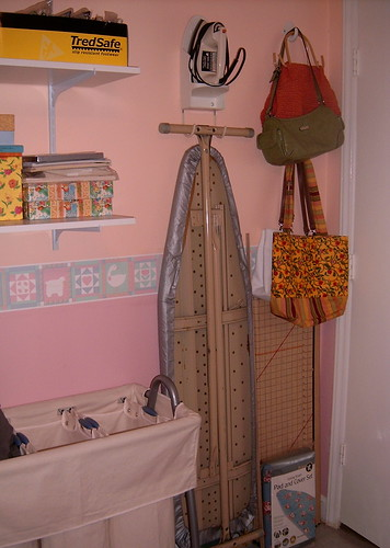 Iron and Laundry Area