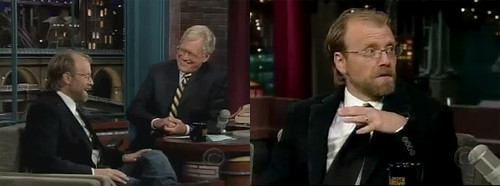 george saunders on letterman