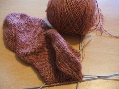 Hopscotch socks - heel