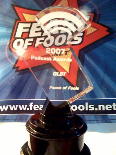 Feast of Fools Receives Best GLBT Podcast Award!