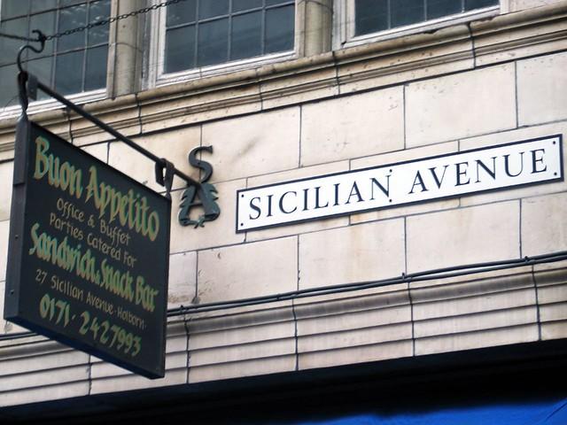 London - Sicilian Avenue