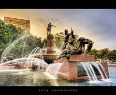 The Archibald Fountain, Sydney :: HDR 작성자 Artie | Photography