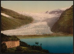 [Svartisen, Nordland, Norway] (LOC) (The Library of Congress) Tags: winter lake mountains color ice beautiful norway landscape glacier shore colorized pastures libraryofcongress glacial glaciation nordland svartisen heartstopping photochrom xmlns:dc=httppurlorgdcelements11 engabreen dc:identifier=httphdllocgovlocpnpppmsc06194 commons:event=commonground2009