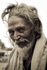 wicked look (Isha Shukla) Tags: tones wrinkles mandu