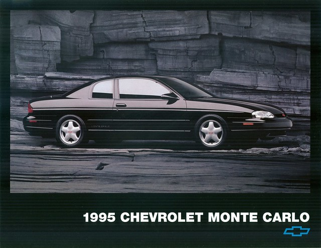 chevrolet montecarlo 1995 brochure
