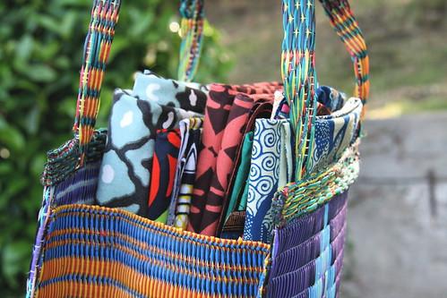 Fabrics in Bag