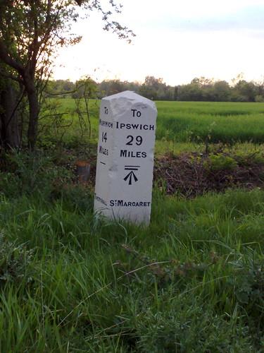 Tivetshall St Margaret milestone