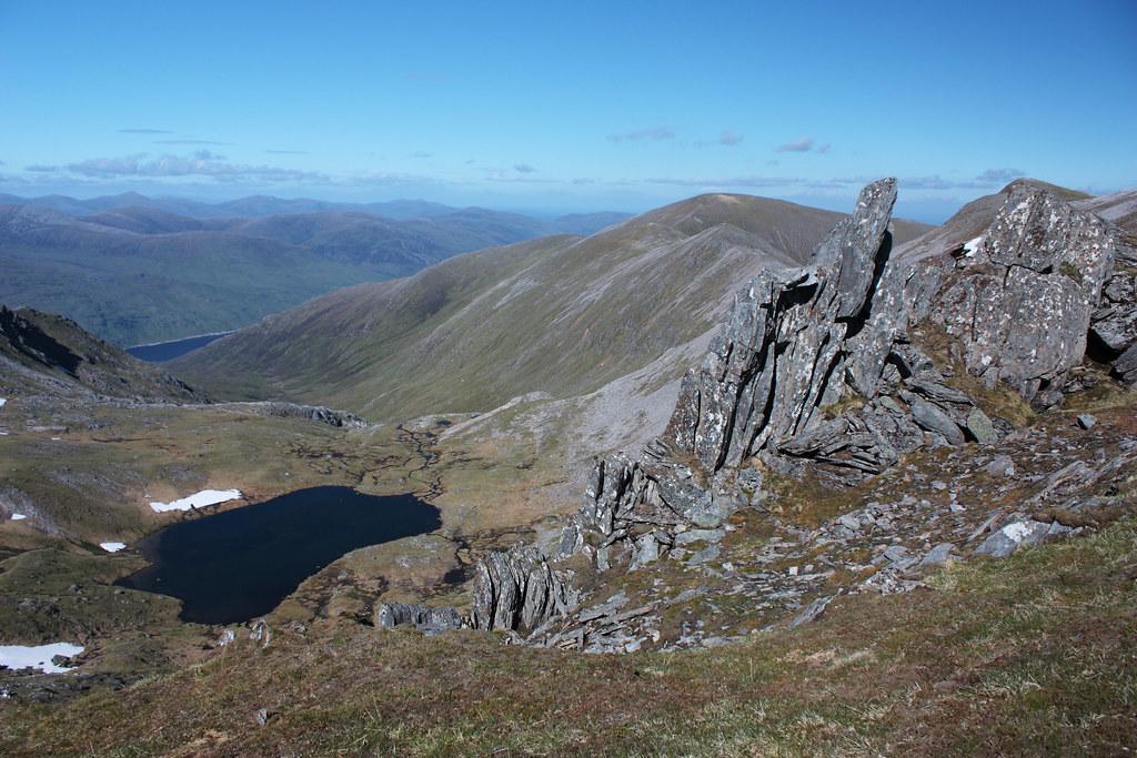 Above Loch a' Choire Dhomhain