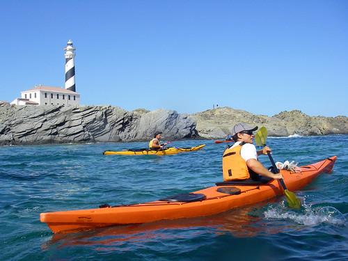 Vuelta a Menorca en kayak 2