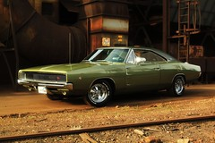 1968 Dodge Charger R/T (1968 Dodge Charger R/T | Scott Crawford) Tags: original shadow white reflection green classic cars hardtop car sedan vintage reflections scott photo washington interesting automobile spokane driving shadows unitedstates muscle top metallic interior wheels vinyl cruising automotive retro american valley transportation nostalgic dodge 1968 chrysler mopar bullitt 440 rt sixties v8 charger carshow magnum musclecar collectable horsepower 68 yesteryear easternwashington scottcrawford roadtrack chargerrt inlandnorthwest 60s pentastar 1968dodge 1968dodgecharger bbody 1968charger 1968dodgechargerrt