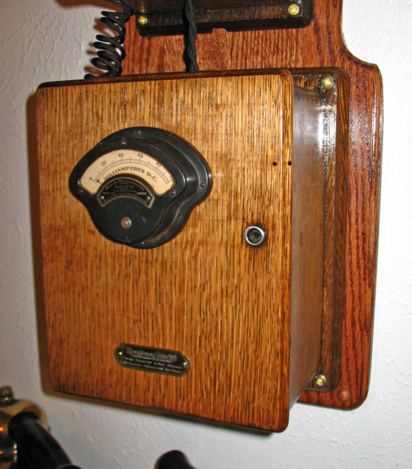 antique phone project bottom