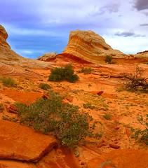 Lollipop Rock. (coulombic) Tags: arizona southwest rock canon landscape utah ut sand sandstone desert az canon5d redrock quartzite stormyweather blm redstone americansouthwest pariacanyon paria vermillioncliffs sedimentaryrock canoneos5d metamorphicrock gabefarnsworth canonef1635mmf28lii whitepocket coulombic lollipoprock