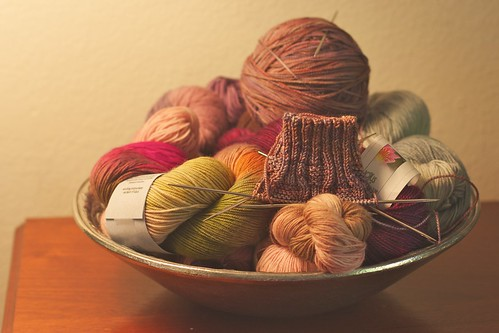 fruit bowl of yarn