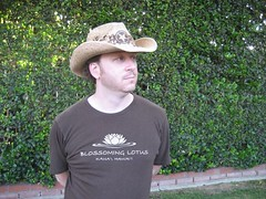 Doesn't Tim look good in a cowboy hat? (5/27/07)