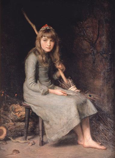 John Everett Millais, Cinderella, 1870s