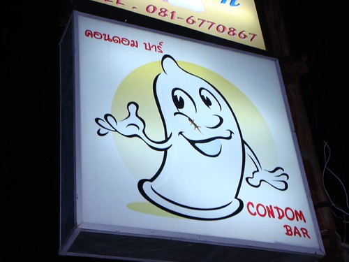 The Condom Bar, Koh Samui