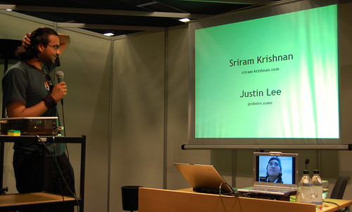 Sriram Krishnan and Justin Lee