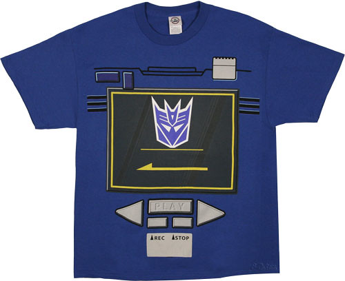 camiseta de Soundwave G1