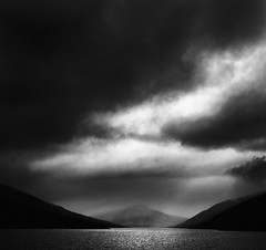 In the Beginning. (Parcelpacker) Tags: mountains clouds scotland loch lochlyon