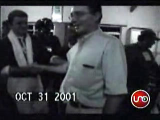 Uribe y comandante Estaban