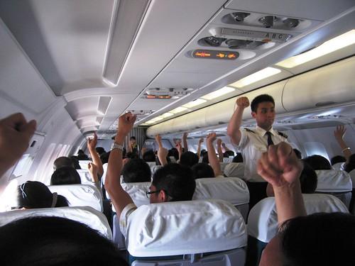 Al eens met een frauderende piloot gevlogen?
