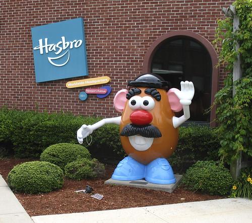 Botcon '07 - Day 2 - Hasbro Tour - Outside the Hasbro doors.