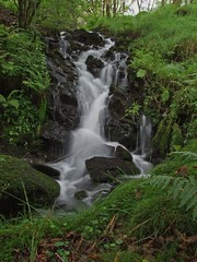 Falls (RoystonVasey) Tags: white lake motion blur green eye fall water beauty wonderful waterfall long exposure fuji close district smooth cumbria finepix winner slate coniston quarry silky hodge naturesfinest s6500fd s6000fd ldnp